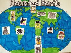 Haunted Earth Oceans and Continents
