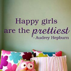 EVERY mother should stencil this on their TEENAGE girls wall!
