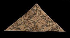 Woman's triangular forehead cloth        English, 1575–1625
