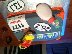 Running Group' cake Nov, 2012