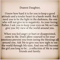 Dear Daughter, Why I Struggle To Feel The Fear And Do It Anyway'