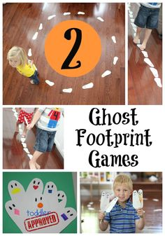 Toddler Approved!: 2 Ghost Footprint Games