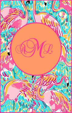 Make your own Lilly Pulitzer Monogram! In today's blog, the Pelican Girls show you the easy peasy way to make your own FREE Lilly Lovin' monogram!