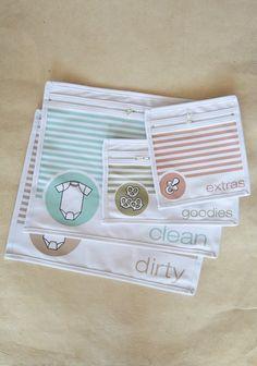 Diaper Bag Organizer Pouches - for a new mom