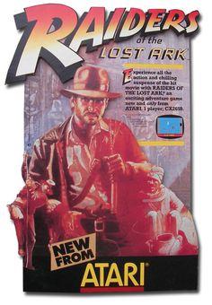 Indiana Jones raiders Of The Lost Ark Atari 2600 advertisement
