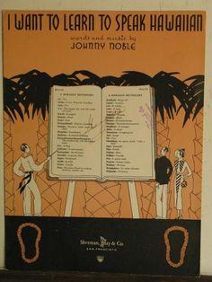 Pre-WWII Hawaiiana - Music --