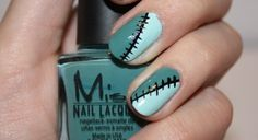 unique halloween nails