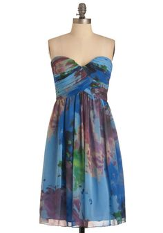 pretty.... summer dresses, fashion, spring dresses, summer outfit, watercolor paintings, style, bridesmaid dresses, summer weddings, short dresses