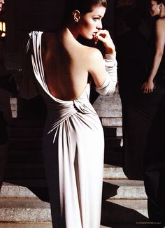Donna Karan sexy back
