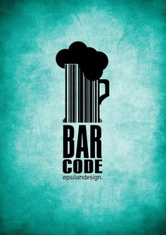 typography bar code by tasos7 d4akuao  Very creative. The double meaning is clever. The background is beautiful! Not sure why it was chosen for this particular image, but it caught my eye before anything else. I like how all of the type lines up vertically. #typography #design #barcode