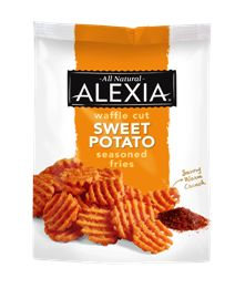 ... fries, then you'll be obsessed with Alexia's Sweet Potato Waffle ...
