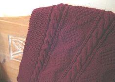 LAP ROBE Hand Knit C