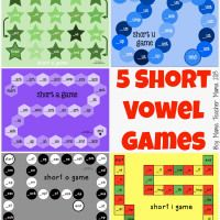 5 Games for Practicing Short Vowel Sounds | Boy Mama Teacher Mama