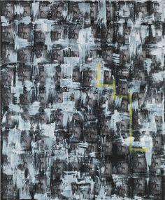 HARMONY KORINE Loop Dingy, 2014 Oil, latex, and spray paint on canvas 102 x 84 inches (259.1 x 213.4 cm)