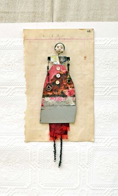 assemblage dollies on etsy
