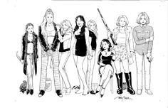 Terry Moore-Strangers in paradise