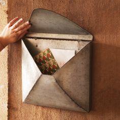 Zinc Envelope Pocket | snail mail perfection