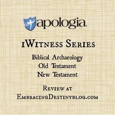 Apologia iWitness book series #hsreview #homeschool