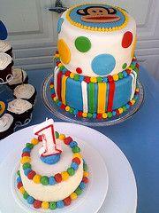 Paul Frank Julius cake with smash cake