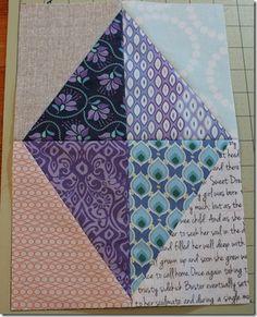 Half-Square Triangles---Good tutorial!