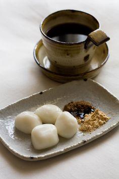 Japanese rice-cake sweets (Mochi)