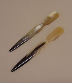 ox-horn letter openers