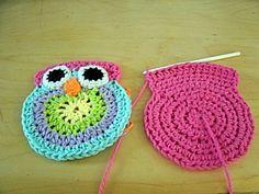 Free Crochet Patterns For Owl Purses : Crochet Owl Purse on Pinterest Owl Purse, Crochet Owls ...