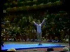 Nadia Comaneci 1976 Olympics  Perfect 10.0.