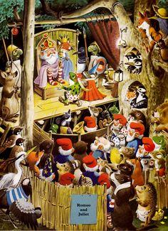 The Woodland Folk Meet the Gnomes by Tony Wolf