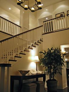 entry way. stairs looking over.