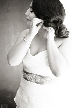 Belt. Judd Waddell. Photography: Renaissance Studios - renaissancestudios.ca  Read More: http://www.stylemepretty.com/canada-weddings/2014/02/18/modern-toronto-wedding/