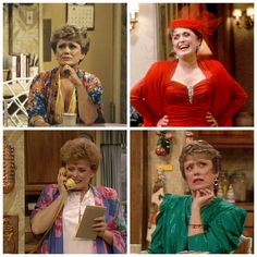 Blanche Devereaux... Oh the style!