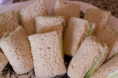 Teeny tiny bread books with cucumber pages!