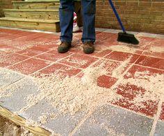 How to install a paver patio.