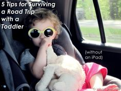 5 Tips for Surviving a Road Trip With a Toddler (With No iPad)