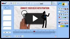 Powtoon is a brand new presentation tool that allows you to create animated presentations by dragging and dropping designed elements to your slides.