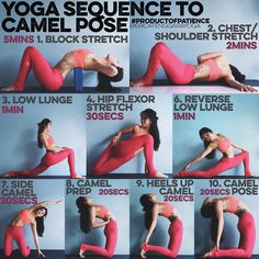 YOGA SEQUENCE TO CAM