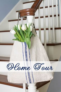 This home tour is full of DIY's, decorating tips and inspiration. Definitely worth a peek! | From On Sutton Place