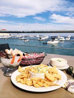 @AimeeSong's favorite dish: crab artichoke dip! #CatalinaIsland #DreamingInBlue