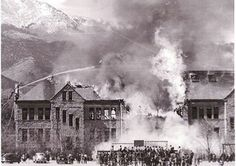 Fire at the Deaf and Blind school 1950