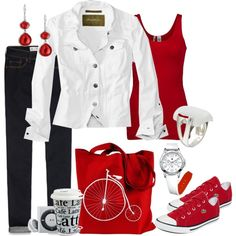 """""""On the Go"""" by alison-louis-ellis on Polyvore"""