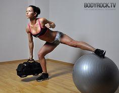 Tight Cheeks Workout ~ 17 mins - 4 excerises