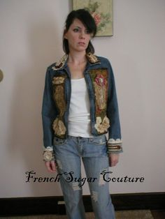 Altered Couture  French Sugar Parisian by frenchsugarcouture, $135.00 sew, french sugar, couture, coutur french, craft idea, frenchsugarcoutur, alter coutur