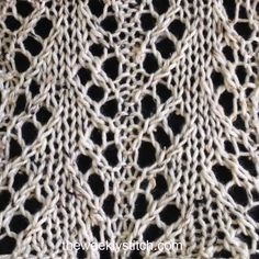 Ascending Lace | The Weekly Stitch