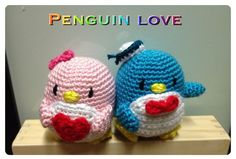"free pattern :  Crochet Penguin Sam and Amy Doll Toy by ""DDs Crochet"""