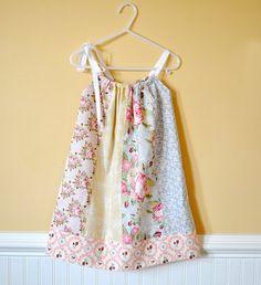Fat Quarter Pillowcase Dress tutorial