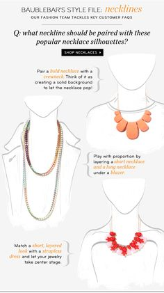 \Necklaces For Every Neckline