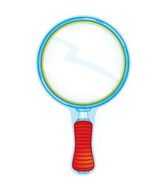 Magnifying Glass Cut-Outs - Detective Theme