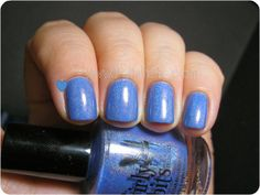 Polish Etc.: Girly Bits Bachelor's Button #GirlyBits #indiepolish #holo