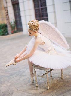 ✕ In white...